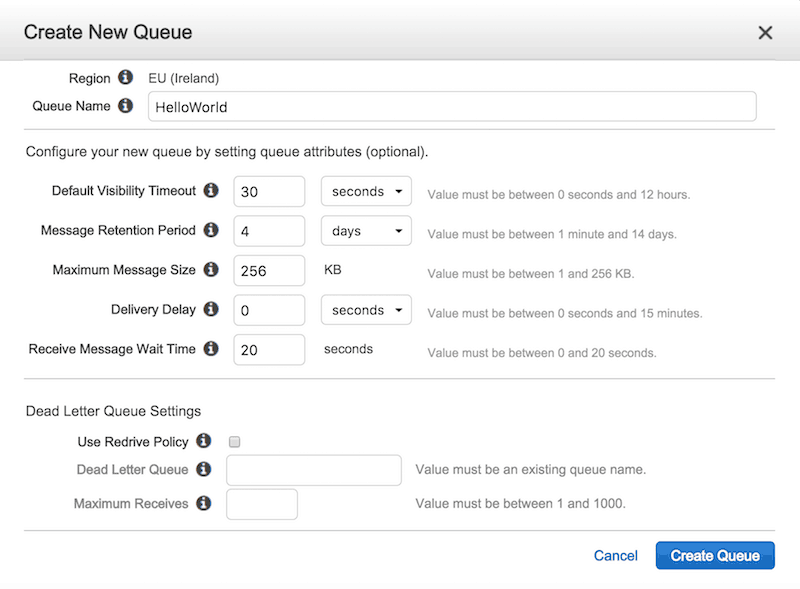 AWS Lambda - use recursive function to process SQS messages (Part 1