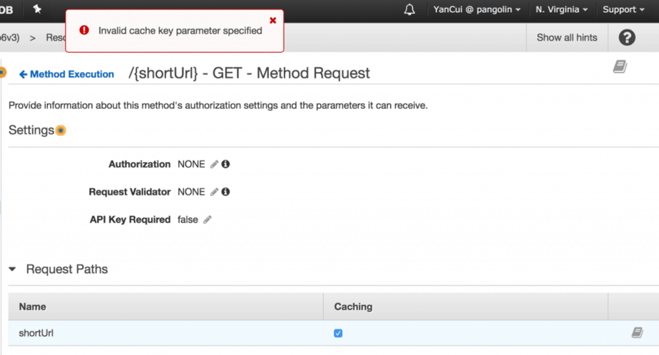 Serverless 1 X Enable Api Gateway Caching On Request Parameters