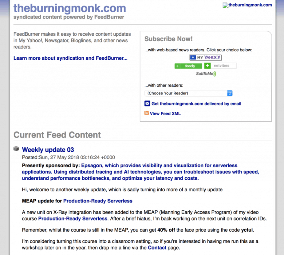 Sponsorship | theburningmonk com