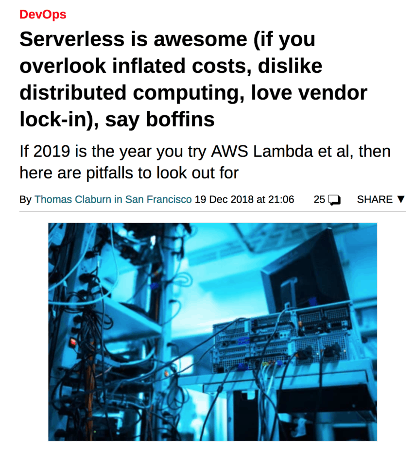 You are thinking about serverless costs all wrong | theburningmonk com