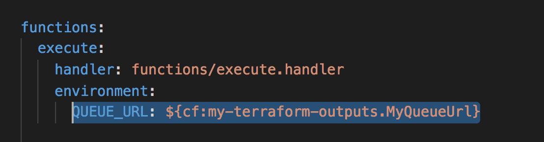 Making Terraform and Serverless framework work together